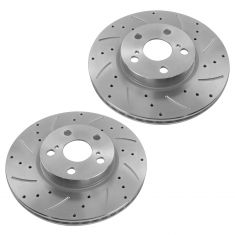 09-12 Corolla Matrix; 08-12 Scion xD Front Dsc Performance Disc Brake Rotor Pair