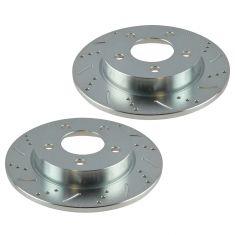 04-12 Mazda 3 w/2.0L Rear Wheel Performance Brake Rotor Pair