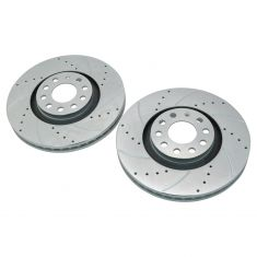 05-09 A4; 00-04 A6; 00-02 S4 Front Performance Brake Rotor Pair