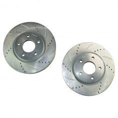04-08 Buick Lacrosse Pontiac Grand Prix Performance Brake Rotor Front Pair