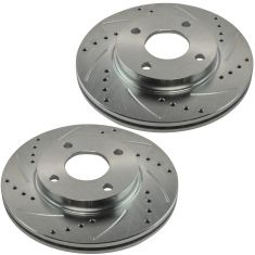 2000-04 Ford Focus Front Performance Brake Rotor Pair