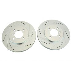 84-91 BMW 3 Series Front Performance Brake Rotor Pair