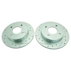 89-98 Nissan 240SX Rear Perfomance Brake Rotor Pair