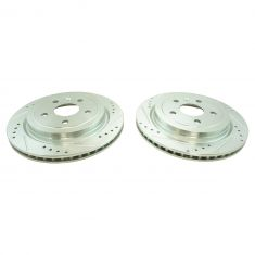 08-12 Cadillac CTS; 10-12 Chevy Camaro w/3.6L Rear Performance Brake Rotor Pair