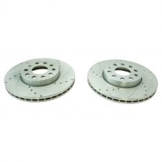 11-12 Audi A3; 05-12 VW Multifit (260 x 12mm) Front Performance Brake Rotor Pair
