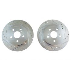 09-10 Vibe 1.8; 09-12 Matrix 1.8; 10-12 Prius 11-12 CT200H; 09-15 Corolla Rear Performance Rotor