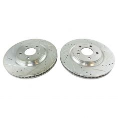 08-09 Allure, Lacrosse Super; 06-11 DTS w/RPO JL9 Front Performance Brake Rotor