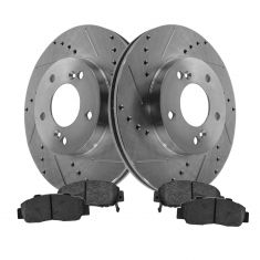 Front Performance Rotor & Posi Metallic Pad Kit 00-01 Integra, 96-98 RL