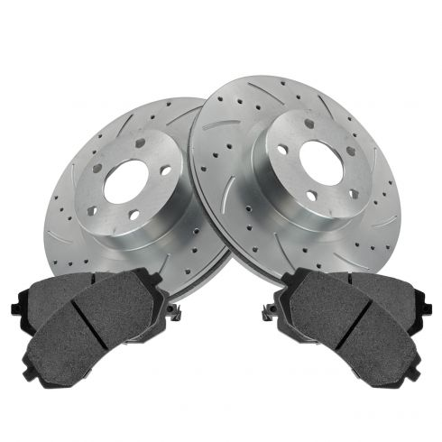 Pair For 1987 Toyota Camry R1 Concepts Brake Drums Rear