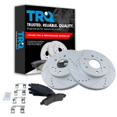 Front Performance Rotor & Premium Posi Ceramic Pad Kit 05-09  Chevy Truck/SUV