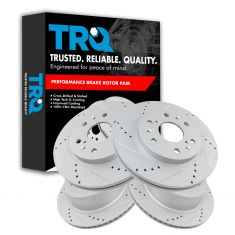 07-13 Chevy GMC Truck & SUV Front & Rear Performance Rotor Set