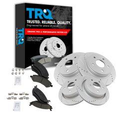 06-12 Ram 1500; 07-09 Aspen, Durango Front & Rear Performance Rotor & Ceramic Pad Kit