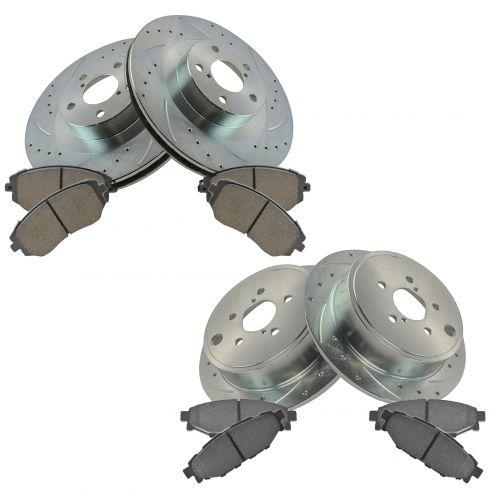 Disc Brake Pad Set-R-Line; Ceramic Rear Raybestos MGD1114CH