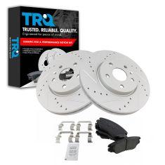 Rear Brake Hardware Kit For 2013-2015 Chevy Malibu 2014 F388TW