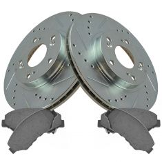 02-04 Honda CR-V Front Perfomance Brake Rotor & Ceramic Pad Kit