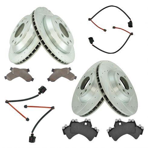 Rear Disc Brake Pad Wear Sensor LH or RH for Audi Q7 Porsche Cayenne VW Touareg