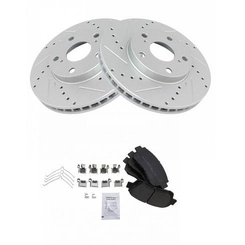 Disc Brake Pads Set Kit Semi-Metallic Front for Chevy Geo Toyota NEW