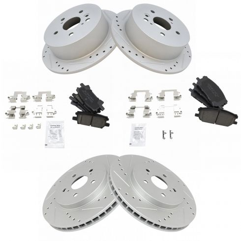 Rear OE Brake Calipers For Lexus RX330 RX350 RX400h