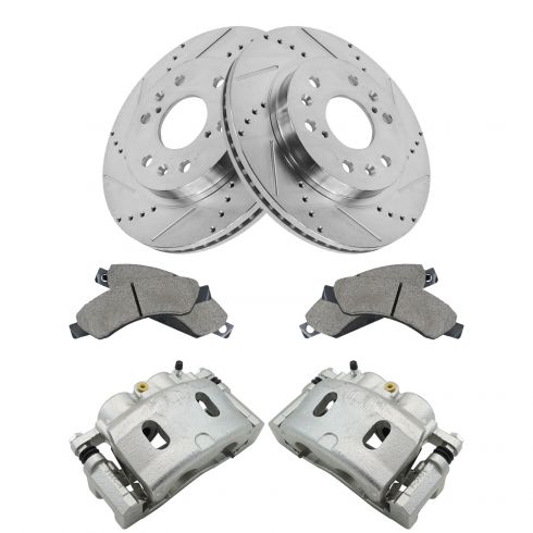 Brand New Top Quality Front Brake Calipers Pair Set for Cadi GMC Chevy