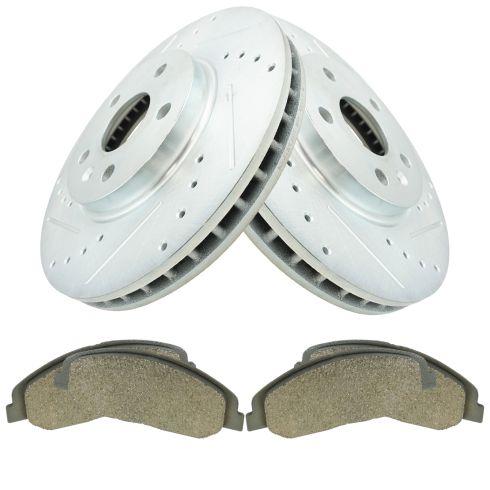 08-14 CTS w/ Std Brake Option Fron Posi Ceramic Pad & Performance Rotor Kit