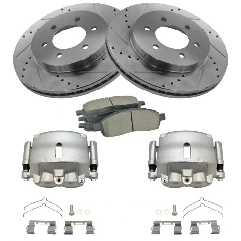 Performance Brake Kit w/Calipers