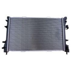 12-13 Fiat 500; 14-17 500 2DR w/1.4L; 13-17 500 Hybrid Plastic/Aluminum Radiator