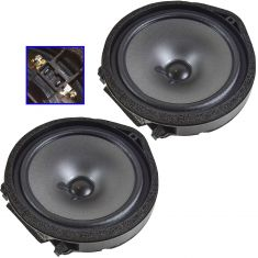 06-07 Honda Civic Coupe; 06-07 Civic Sedan Front Door Speaker Pair (Honda)