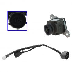 13-16 Ram 1500-5500 (w/Rear View Camera Option) Back Up Camera w/Wiring Harness Replacement (Mopar)