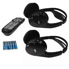 06-15 Chrysler, Dodge, Jeep Multifit VES Dual Channel Wireless Headphones w/Remote Kit (Mopar)