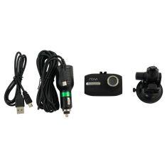 ROVI: Compact Dash Camera w/1080p HD Resolution, Wide Angle 120 Deg Sweeping Lense & Loop Rec