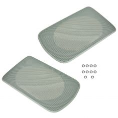 02-06 Toyota Camry Tan Rear Speaker Grille Cover Replacement PAIR (Toyota)