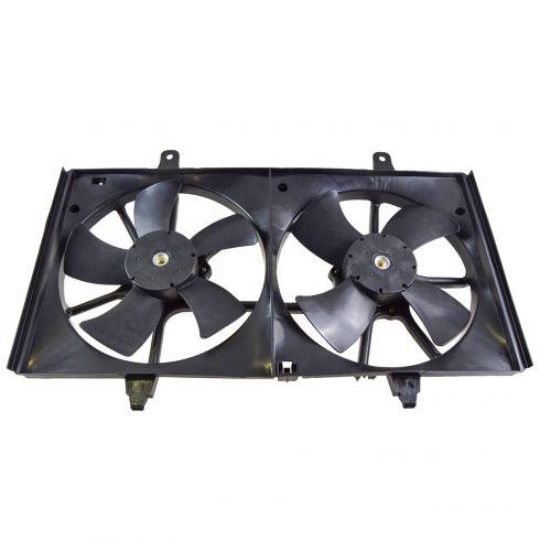 02-04 Nissan Altima 2.5L Dual Cooling Fan Assy