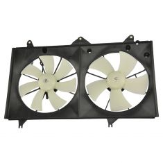 02-06 Ty Camry; 02-08 Solara 4Cyl Rad/Cond Dual Cooling Fan Assy