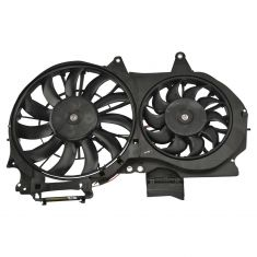 02-07 Audi A4 S4 RS4 Cabrio Radiator Cooling Fan (Dual)