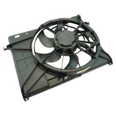 07-10 Kia Magentis w/2.4L; 06 Optima (5th Vin Digit E) 2.4L; 07-10 Optima 2.4L Rad Cooling Fan Assy