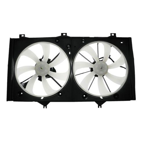07-09 Toyota Camry w/2.4L (w/o Tow Pkg) Radiator Dual Cooling Fan Assy