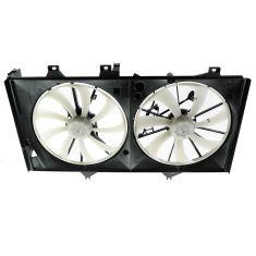 12 Toyota Camry w/3.5L Radiator Dual Cooling Fan Assy