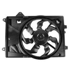 12-13 Chevy Sonic w/1.8L Radiator Cooling Fan Assy