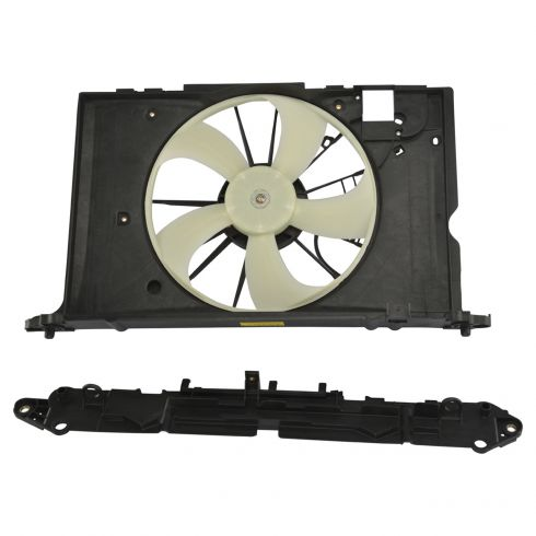 Radiator Cooling Fan For 2009-2013 Toyota Corolla 2009-2010 Pontiac Vibe