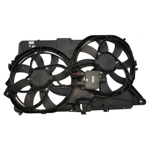 2009 Ford Flex 3.5L (exc Turbo) Radiator Fan Assembly