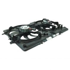 09-16 Audi A4; A5; Q5; Allroad Radiator & AC Condenser Cooling Fan Assembly