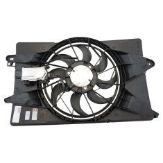 14-16 Cherokee w/2.4L & Single Fan; 15-16 Chrysler 200; 13-16 Dart w/Module Rad Cooling Fan Assy