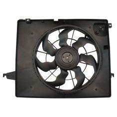 13-17 Hyundai Sante Fe Sport w/2.4L; 14-15 Kia Sorento w/2.4L Radiator Cooling Fan Assembly