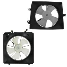 98-02 Accord 3.0L; 99-01 TL 3.2L Radiator & AC Cooling Fan Assembly PAIR