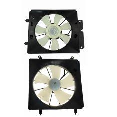 For Honda Crv Cr-V 07 08 09 Radiator Cooling Fan Assembly