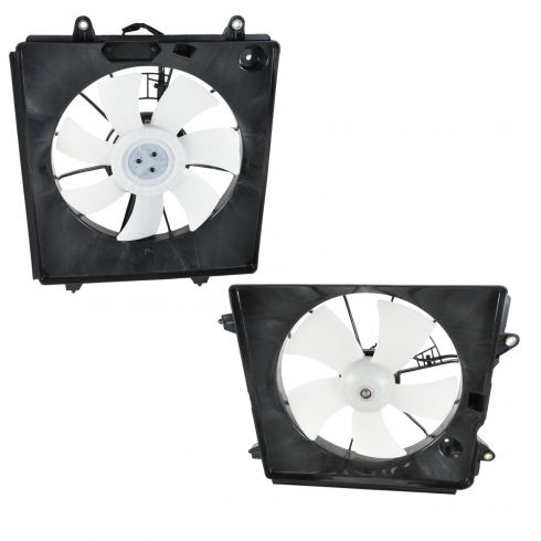A//C Condenser Cooling Fan For 2007-2009 Honda CR-V