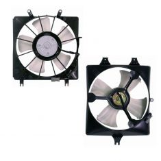 03-07 Honda Accord 3.0L Radiator & AC Condenser Fan Kit