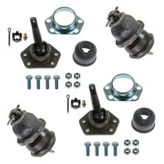 64-74 GM Multifit Front Upper & Lower Ball Joint Kit (Set of 4)