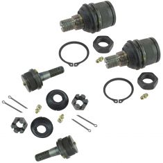 94-04 Dodge Ford Upper & Lower Ball Joint Kit (Set of 4) (Moog)