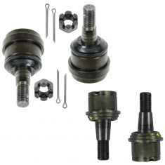 00-02 Dodge Ram 2500, 3500 Upper & Lower Ball Joint Set of 4 (MOOG K7394, K7397)